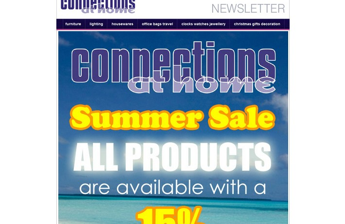 Discount Sale Newsletter